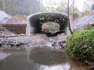 new cement culvert