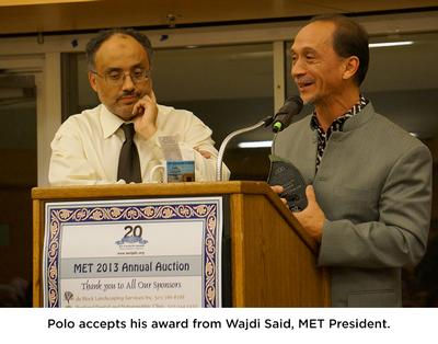 Photo of Polo and Wajdi