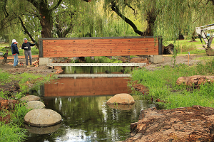 new Eastmoreland Golf Course culvert