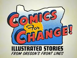 Comics for Change logo