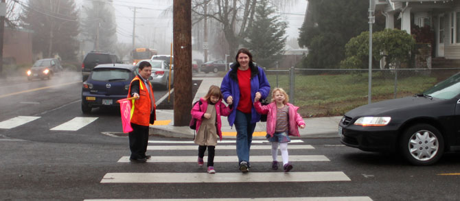 steve novick crossing guard