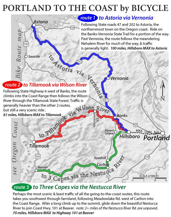 Portland to the coast by bike recreational bicycling for Portland maine bike trails
