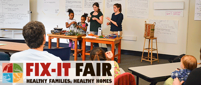 Fix-It Fair workshop