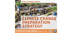 Climate Change Preparation Strategy Cover