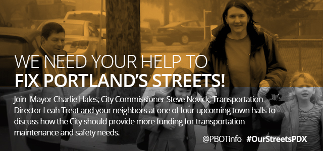 We need your help to fix Portland Streets