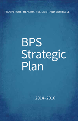 BPS strategic Plan cover