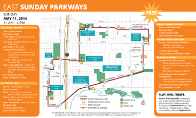 East Sunday Parkways Brochure