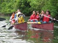 canoeing the Slough