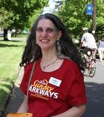 Linda Ginenthal, Sunday Parkways Manager