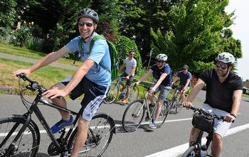 All Smiles at Sunday Parkways