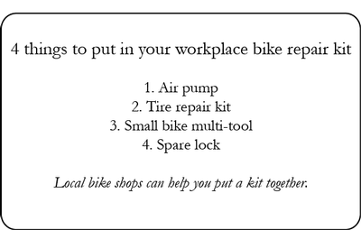 Bike repair kit list