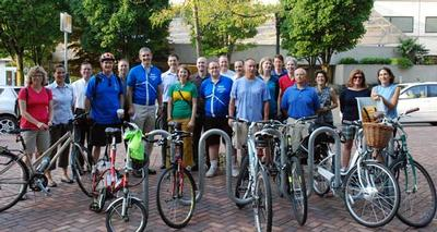 PGE Bike Commute Challenge participants