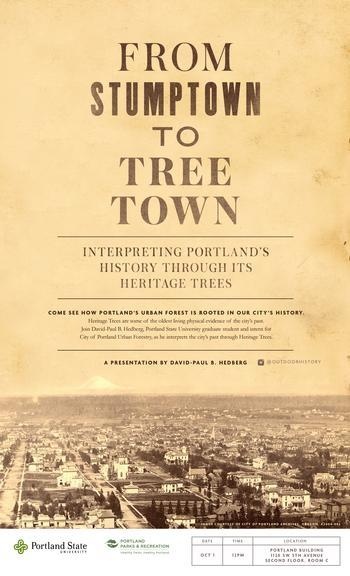 Heritage Tree Talk Oct. 1