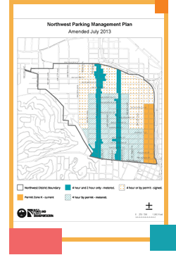 photo: street parking map
