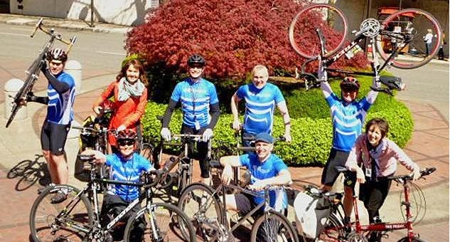 Cambia's Bike Commute Challenge core team