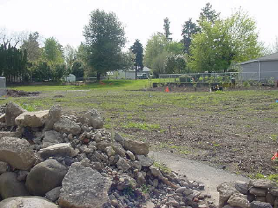 Senn's Dairy Park site before