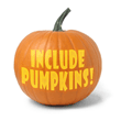 Include pumpkins!