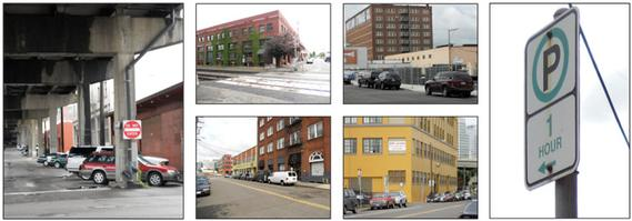 Central Eastside Industrial District streets