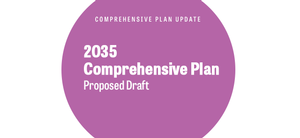 2035 Comprehensive Plan Update Proposed Draft