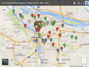 Interactive Funded Projects Map | Winter 2015 Brownfield Program ...