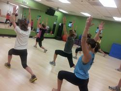 Fitness Boot Camp participants enjoying exercise