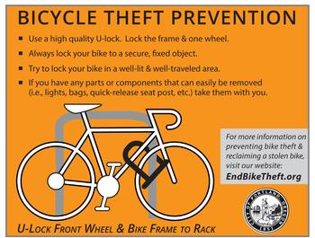 bike theft card