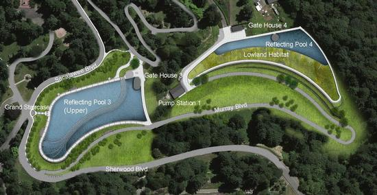 Proposed project at Washington Park