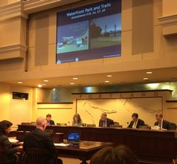 Commissioners discuss proposed amendments to the West Quadrant Plan