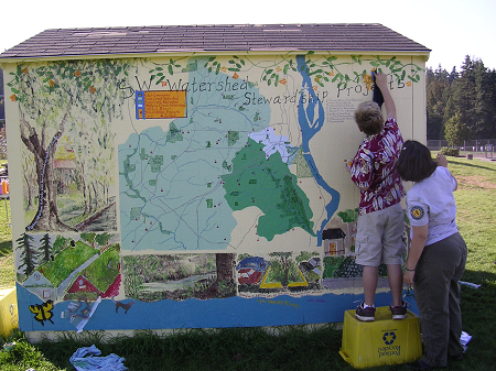 painting the Water Shed