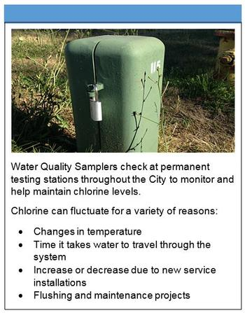 Water quality samplers