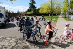 kids on Safe Routes Community Bike Ride