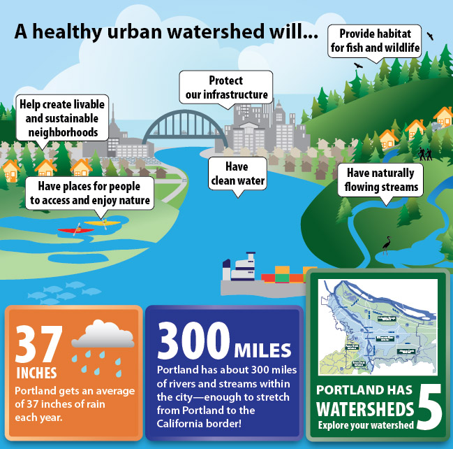 how to tell if watershed is healthy