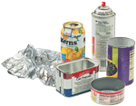 metal recycling items