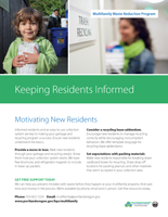 Keeping residents informed