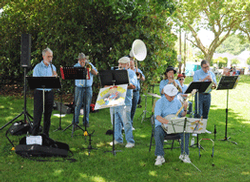 Musicians in the park