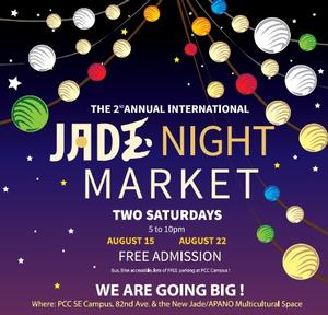 Jade Night Market events