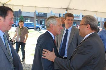 Commissioner Saltzman, Mayor Hales and Lew Frederick