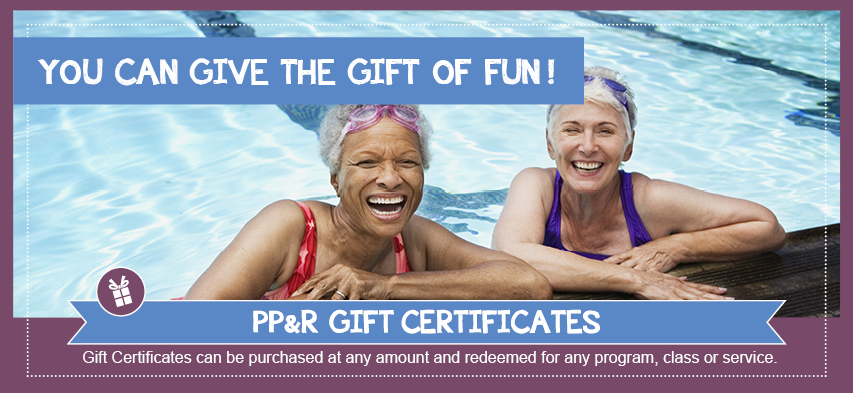 You can give the gift of fun!
