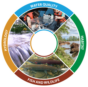 watershed health graphic