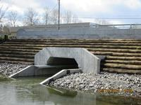 culvert on the Columbia Slough