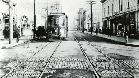 View of Sunnyside street car line