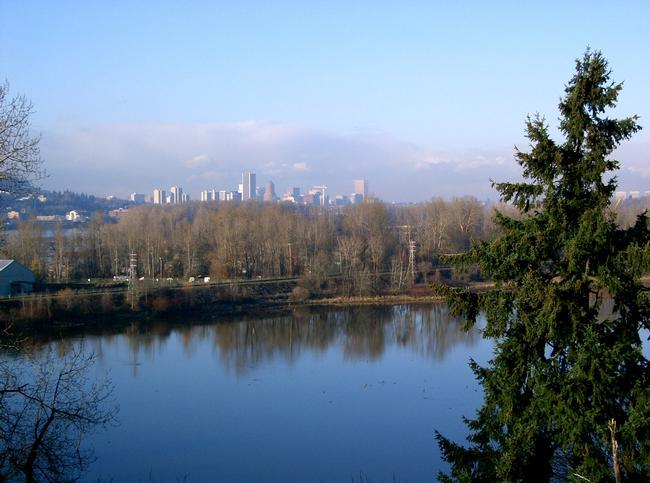 Willamette River in Portland