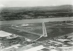 1940 Airport under construction