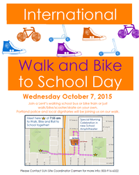 Walk+Bike Day sample poster