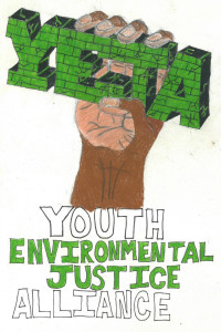 YEJA logo created by a youth organizer.