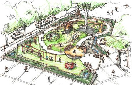 Portland's Couch Park Playground Improvements
