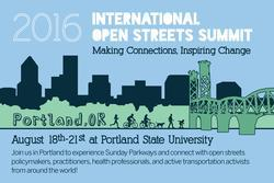 Open Streets Summit save the date postcard
