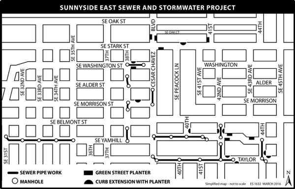Sunnyside East Project Map
