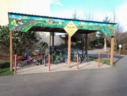 Glencoe Bike Shelter