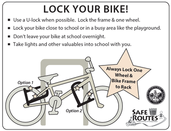 Bike Locking tips